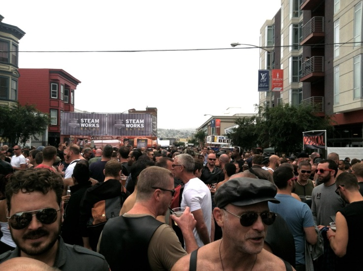 Back in the City, Dore Alley feeds my leathermen fetish!