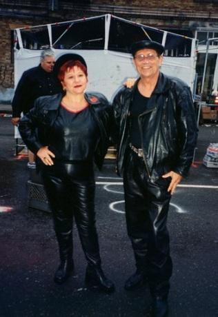 A Couple of Leatherfolk © Cleo Dubois
