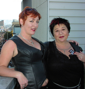 On the roof with Eve Minax